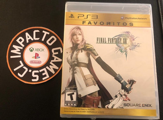 Final Fantasy 13 Vlll Playstation 3 (sellado) Envíos Grátis