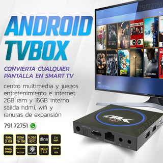 Tv Box Android Convierte Smart Tu Tv