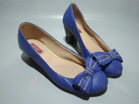 Sapato Feminino Salto Semi Novo Confortável/ Sapatilha