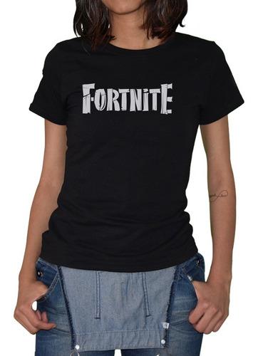 Imagen 1 de 5 de Playera Mujer Fortnite D-4