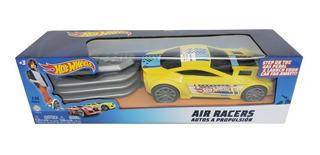 Super Auto Hotwhells Con Fuelle Lanzador 23 Cm Air Racers