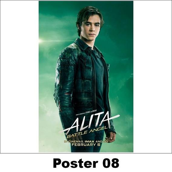 Poster Alita 30x42 Anjo De Combate (08)
