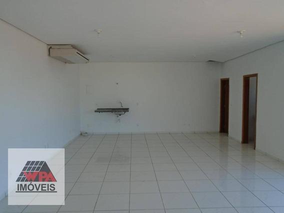 Sala Para Alugar, 60 M² Por R$ 1.600,00/mês - Jardim Girassol - Americana/sp - Sa0432
