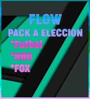 Flow Cablevizion 12 Mses Pack A Eleccion