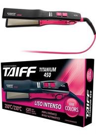 Chapinha Titanium 450 Pink Modela Cabelos Mulheres 110v/220v