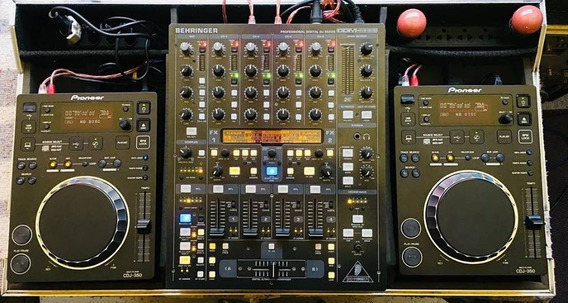 Pioneer Cdj350 02x + Ddm 4000 + Case - 12 X Sem Juros