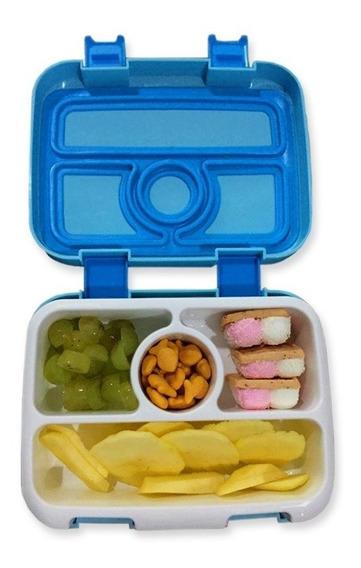 Lonchera Box Lunch Niños Hermética Infantil Escolar