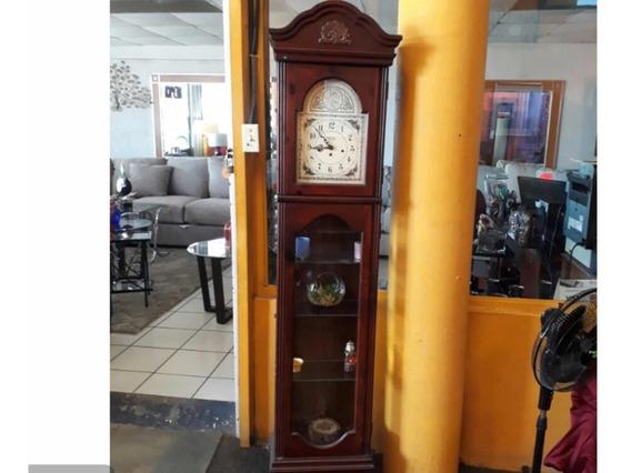 Reloj Vitrina Grandfather De Cuerda Alemán Soneria
