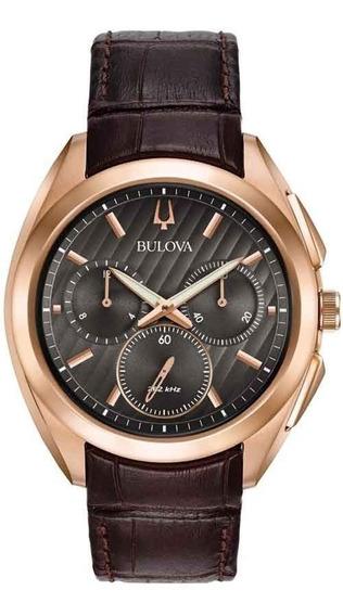 Relógio Bulova Masculino Curv Wb31890c