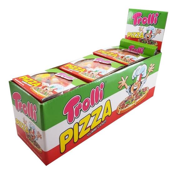Trolli Gummi Pizza X24un - Barata La Golosineria