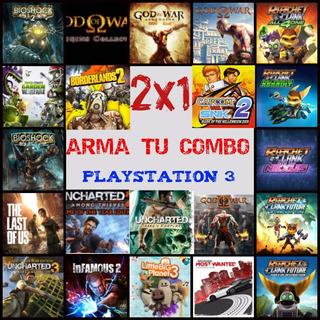 Promo Ps3 2x1 Arma Tu Combo 2 Juegos En 1 User
