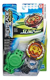 Beyblade Burst Turbo Slingshock - Top Y Lanzador Phoenix P4