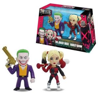 Metal Sie Cast Joker & Harley Quinn Original Local/envios