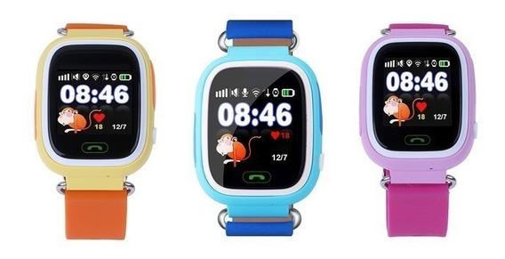 Relógio Localizador Q90 Criança Smart Gps