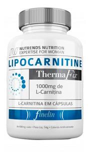 Emagrecedor Lipocarnitine 1000mg L-carnitina Nutrends