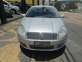 Fiat Linea Hlx 1.9 Dual 2010 Prata Flex