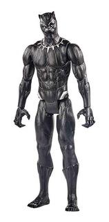 Muñeco Articulado Titan Hero Avengers Pantera Negra Full