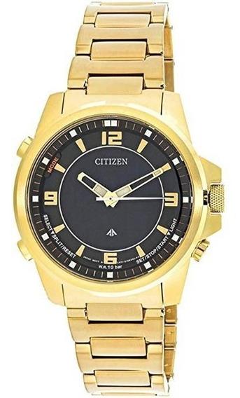 Relógio Citizen Masculino Tz10155u Promaster Gmt Dourado
