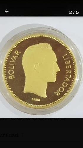 Imagen 1 de 3 de Moneda Oro 22kl En Su Capsula Original En Oferta.