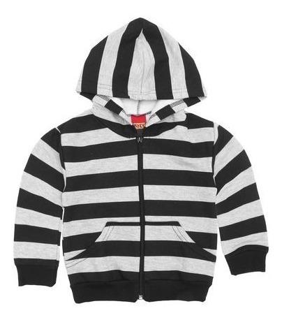 Jaqueta Infantil Masculina Em Moletom Kyly - 084206293