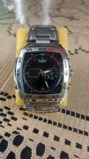 Vendo Relógio Casio Edifice Efa-122d-1av Termômetro