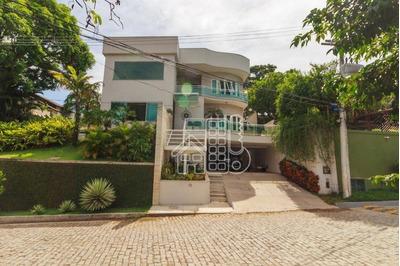 Casa Com 4 Dormitórios À Venda, 360 M² Por R$ 1.800.000 - Badu - Niterói/rj - Ca1010