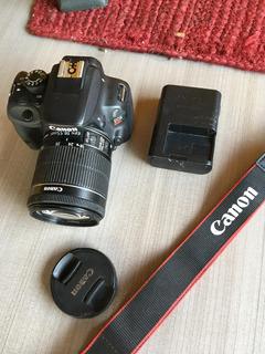 Camara Canon Sl1 Excelente Estado Pantalla Touch 18 Megapixe
