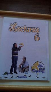 Libro Lecturas 6 Flor De Araguaney Serie Santillana