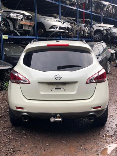 Imagem 1 de 9 de Sucata Nissan Murano V6 2011 Gasolina 264cvs
