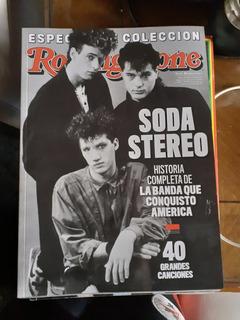 Revista Rolling Stone- Bookazine - Soda Stereo - Coleccion