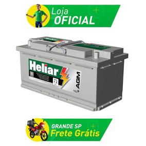 Bateria De Carro Heliar Agm - 95 Amperes - Ag95md