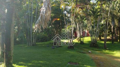 Chácara Com 3 Dormitórios À Venda, 12000 M² Por R$ 1.650.000,00 - Vila Progresso - Niterói/rj - Ch0001