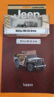 Colección El Comercio Willys Mb Us Army Jeep Auto Carro