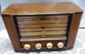 Rádio Antigo Valvulado Semp - Funcionando