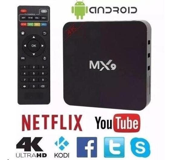 Conversor Smart Tv 4k Android 9.0 De 4g+32g