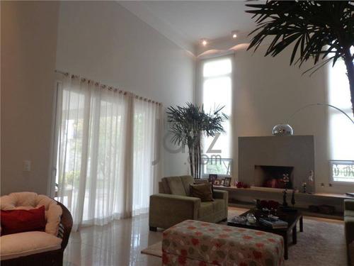 Casa Residencial À Venda, Alphaville Campinas, Campinas. - Ca1686