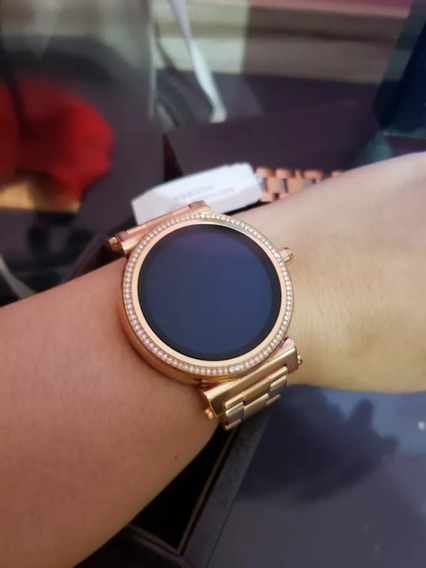 Relógio Smartwach Michael Kors Access Sofie Rose Gold