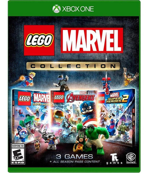 Lego Marvel Collection Xbox One Mídia Física Novo Original