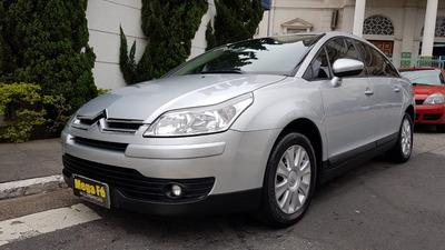 Citroën C4 Pallas 2.0 Glx Flex Aut. 2013 Prata Completo Novo