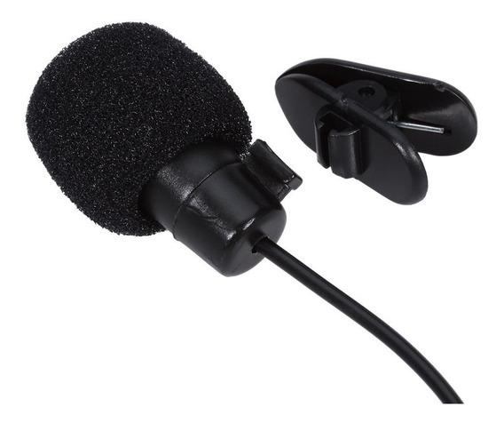 Microfone De Lapela P2 Stereo Profissional Youtubers Skype