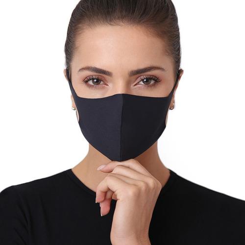 Kit 10 Máscaras Reutilizável Anti-bactericida Fashion Med