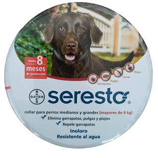 Collar Antipulgas Seresto Grande Para Perros Mayores De 8 Kg
