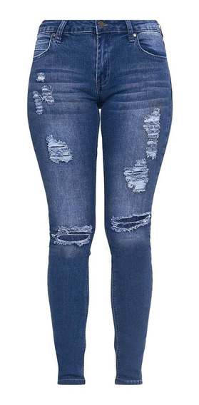 Pantalones Dama The Rockn Rev - Jean - Talla 14