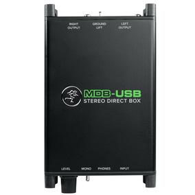 Direct Box Mackie Mdb-usb Stéreo Garantia E Nf-e Mdb Usb