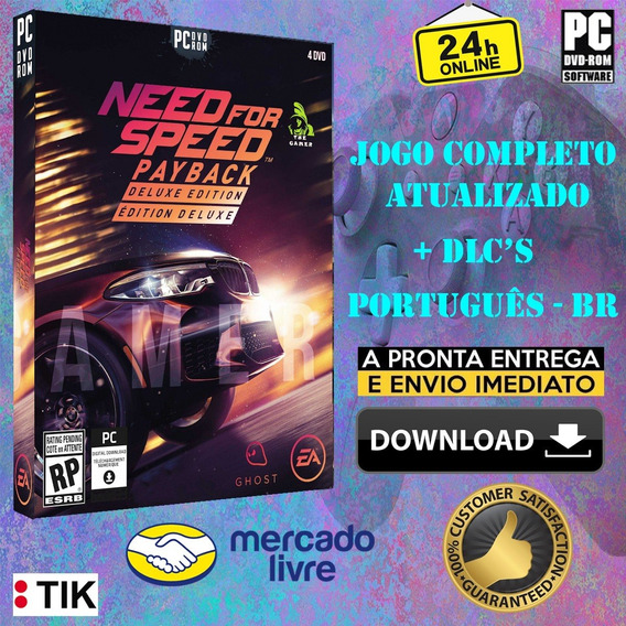 Need For Speed Payback Deluxe Edition - Completo - Português