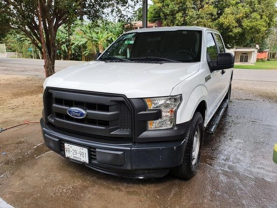 Ford F-150 5.0l Xl Doble Cabina 4x2 Mt 2015