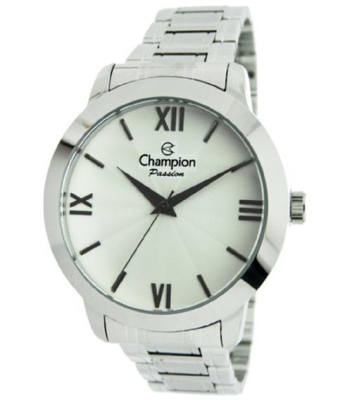 Relógio Champion Feminino Analógico Prata Cn28704q