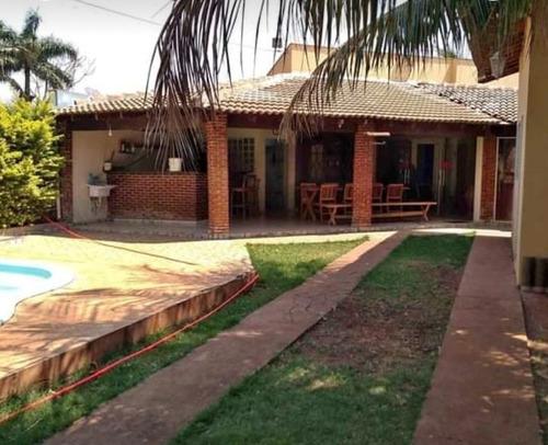Chácara 150m2 Construída 100m2 Do Rio,piscina,churrasqueira,2 Vagas Cobertas(não Aceita Permuta) - Ch00060 - 69325077