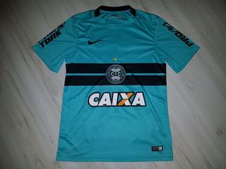 Camisa 3 Do Coritiba 2015 Nike #7 Rdp Caixa Coritiba Azul P
