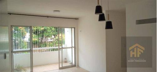 Apartamento Em Iputinga, Recife/pe De 86m² 3 Quartos À Venda Por R$ 200.000,00 - Ap918506
